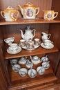 Ceramics pottery Stock Image