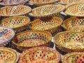 Ceramics from Tunisia Royalty Free Stock Photo