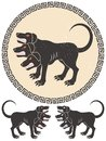 Cerberus Stylized Royalty Free Stock Photography