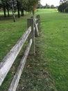 Cerca de madera vieja Foto de archivo libre de regalías