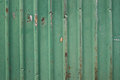 Cerca verde vieja del metal Imagenes de archivo