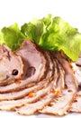 Cerdo cocido al horno ?old Imagen de archivo libre de regalías