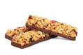 Cereal bars Royalty Free Stock Images
