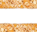 Cereal Bars Border Royalty Free Stock Image