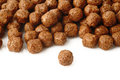 Cereal chocolate balls