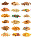 Cereal Collage Royalty Free Stock Photo