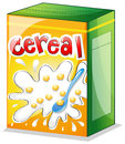 A cereal illustration of on white background Royalty Free Stock Photography
