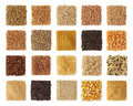 Cereals collection Royalty Free Stock Photo