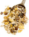 Cereals spoon 4 Royalty Free Stock Images