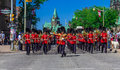 Ceremonial Guard Parade Royalty Free Stock Photos