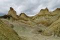 Cerro Alcazar rock formations in Argentina Royalty Free Stock Photo