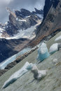 Cerro torre laguna and in patagonia los glaciares national park argentina Royalty Free Stock Photos