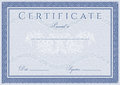 Certificate, Diploma of completion design template