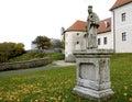 The Cerveny Kamen castle in Slovakia
