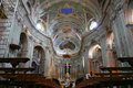 Cervo Cathedral interior, Italy Royalty Free Stock Photo