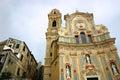 Cervo church Stock Image