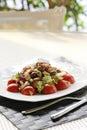 Cesar salad Stock Photo