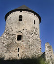 Cesis medieval Castle Royalty Free Stock Photos