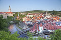 Cesky kromlov czech republic image of krumov and krumlov castle Stock Photos