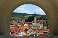 Cesky Krumlov castle Royalty Free Stock Images