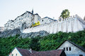 Cesky Sternberk castle, Czech republic, ancient architecture Royalty Free Stock Photo