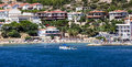 Cesme Beach Royalty Free Stock Photo