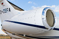 Cessna Citation CJ4 Royalty Free Stock Photos