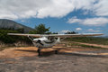 Cessna 175 Royalty Free Stock Photo