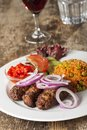 Cevapcici Royalty Free Stock Photo