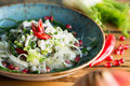 Ceviche with Chili Royalty Free Stock Photo