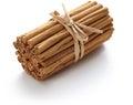 Ceylon cinnamon sticks isolated Royalty Free Stock Photo