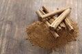 Ceylon Cinnamon Sticks And Pow...