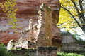 Château de schoeneck this beautiful castle ruin in the alsace region of france is open to the public and can get visited it Stock Photo