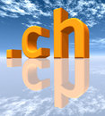 CH Top Level Domain Royalty Free Stock Photos