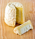 Chabichou du Poitou Cheese from France Stock Photos