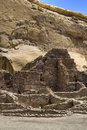 Chaco Canyon Ruins Royalty Free Stock Photo