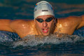 Chad Le Clos-Athlete Swimmer  Stock Images