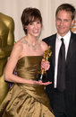 Chad lowe hilary swank mar best actress actor husband at the nd academy awards paul smith featureflash Royalty Free Stock Photo