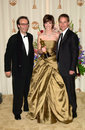 Chad lowe hilary swank roberto benigni mar best actress with husband actor right italian actor at the nd academy awards paul smith Stock Photography