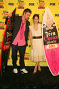 Chad michael murray rachel bilson and in the press room at the teen choice awards universal studios universal city ca Royalty Free Stock Images