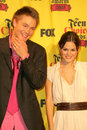 Chad michael murray rachel bilson and in the press room at the teen choice awards universal studios universal city ca Royalty Free Stock Photo