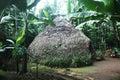 Chagga hut Royalty Free Stock Photo