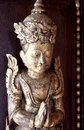Chaiang mai thailand january decorative carved antique figure of the mandarin oriental dhara dhevi chiang mai thail Stock Photos
