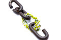 A chain is only as strong as its weakest link Royalty Free Stock Photo