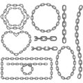 Chain frames Royalty Free Stock Photo