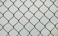 Chain link fence Royalty Free Stock Photo