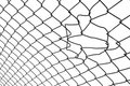 Chain-link fence Royalty Free Stock Image