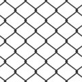 Chain Link Fence Vector Stock Photography