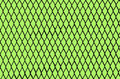 Chain Link Grid On Green Stock Photography