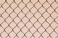 Chain Link on Pink Royalty Free Stock Photo
